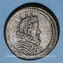 Monnaies Italie. Milan. Poids monétaire du 1/2 de ducaton nouveau de Philippe III et Philippe IV d'Espagne