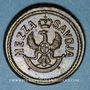 Monnaies Italie. Savoie. Poids monétaire de la demi-doppia neuve de 12 lires (vers 1786-1798)