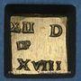 Monnaies Louis XIV (1643-1715). Poids monétaire du double louis aux huit L et soleil