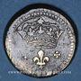 Monnaies Louis XIV (1643-1715). Poids monétaire du double louis