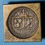 Monnaies Louis XVI (1774-1793). Poids monétaire du double louis aux écus