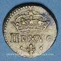 Monnaies Poids monétaire du demi-louis, à partir de Louis XIII (1610-1643)
