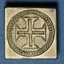 Monnaies Portugal. Poids monétaire de la demi-lisbonine de Jean V (1706-1750)