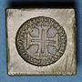 Monnaies Portugal. Poids monétaire de la lisbonine de Jean V (1706-1750)