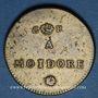 Monnaies Portugal. Poids monétaire de la lisbonine ou moidore. Fabrication anglaise, fin 18e siècle
