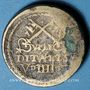 Monnaies Vatican. Poids monétaire de la quadruple pistole d'Italie