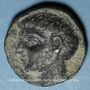 Monnaies Rép. romaine. Scipion l'Africain (236/235-183 av. J-C). Bronze. Carthago Nova, après 209 av. J-C