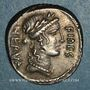 Monnaies République romaine. A. Licinius Nerva (v. 47 av. J-C). Denier