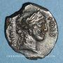 Monnaies République romaine. A. Licinius Nerva (vers 47 av. J-C). Denier
