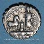 Monnaies République romaine. A. Postumius A. f. S. n. Albinus (vers 81 av. J-C). Denier