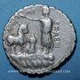 Monnaies République romaine. A. Postumius A. F. Sp. N. Albinus (vers 81 av. J-C). Denier