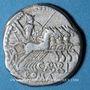 Monnaies République romaine. C. Aburius Geminus (vers 134 av. J-C). Denier