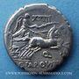 Monnaies République romaine. C. Annius T.f. T.n.(vers 82-81 av. J-C) & C. Tarquitius P.f. Denier