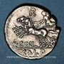 Monnaies République romaine. C. Coelius Caldus (vers 104 av. J-C). Denier