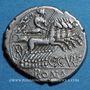 Monnaies République romaine. C. Curiatius f. Trigeminus (vers 135 av. J-C). Denier