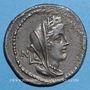 Monnaies République romaine. C. Fabius C. f. Hadrianus (vers 102 av. J-C). Denier
