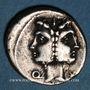 Monnaies République romaine. C. Fonteius (vers 114-113 av. J-C). Denier