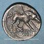 Monnaies République romaine. C. Hosidius C. f. Geta (vers 68 av. J-C). Denier