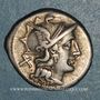 Monnaies République romaine. C. Juventius Thalna (vers 154 av. J-C). Denier