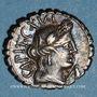 Monnaies République romaine. C. Marius C. f. Capito (vers 81 av. J-C). Denier