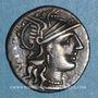 Monnaies République romaine. C. Minucius Augurinus (vers 135 av. J-C). Denier