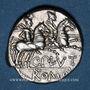 Monnaies République romaine. C. Plutius (vers 121 av. J-C). Denier