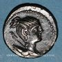 Monnaies République romaine. C. Postumius (vers 74 av. J-C). Denier