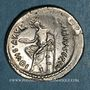 Monnaies République romaine. C. Vibius C. f. C. n. Pansa Caetronianus (vers 48 av. J-C). Denier