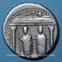 Monnaies République romaine. Cn. Egnatius Cn. f. n. Maxsumus (vers 75 av. J-C). Denier