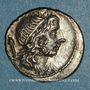 Monnaies République romaine. Cn. Lentulus (vers 76-75 av J-C). Denier