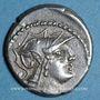 Monnaies République romaine. D. Silanus L. f. (vers 91 av. J-C). Denier