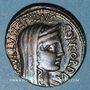 Monnaies République romaine. L. Aemilius Lépidus Paullus (vers 62 av. J-C). Denier