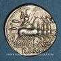 Monnaies République romaine. L. Antestius Gragulus (vers 136 av. J-C). Denier