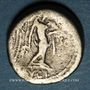 Monnaies République romaine. L. Calpurnius Piso L. F. L. n. Frugi (vers 90 av. J-C). Quinaire