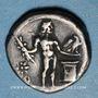 Monnaies République romaine. L. Cornelius Lentulus et C. Claudius Marcellus (vers 49 av J-C). Denier
