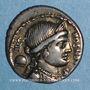 Monnaies République romaine. L. Farsulei Mensor (vers 75 av. J-C). Denier