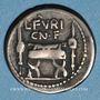 Monnaies République romaine. L. Furius Cn. f. Brocchus (vers 63 av. J-C). Denier