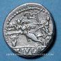 Monnaies République romaine. L. Julius L. f. Caesar (vers 103 av. J-C). Denier