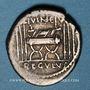 Monnaies République romaine. L. Livineius Régulus (vers 42 av. J-C). Denier