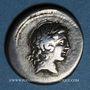 Monnaies République romaine. L. Marcius Censorinus (vers 82 av. J-C). Denier