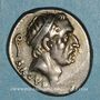 Monnaies République romaine. L. Marcius Philippus (vers 56 av. J-C). Denier