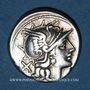Monnaies République romaine. L. Saufeius (vers 152 av. J-C). Denier