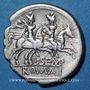 Monnaies République romaine. L. Sempronius Pitio (vers 148 av. J-C). Denier