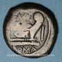 Monnaies République romaine. L. Sempronius Pitio (vers 148 av. J-C). Dupondius