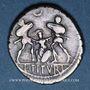 Monnaies République romaine. L. Tituri L. f. Sabinus (vers 89 av. J-C). Denier