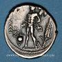 Monnaies République romaine. L. Valérius Flaccus (vers 108-107 av. J-C). Denier