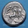 Monnaies République romaine. M. Cipius M.f. (vers 115-114 av. J-C). Denier