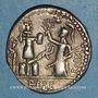 Monnaies République romaine. M. Furius L. f. Philus (vers 119 av. J-C). Denier