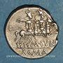 Monnaies République romaine. M. Junius Silanus (vers 145 av. J-C). Denier