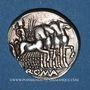 Monnaies République romaine. M. Vargunteius (vers 130 av. J-C). Denier